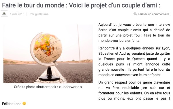 Interview Guillaume