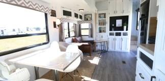 Sejour & cuisine8 family coste renovation caravane américaine voyage