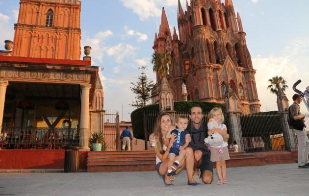 family coste san miguel de allende mexique voyage caravane