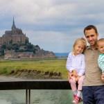 family coste en camping car mont saint michel