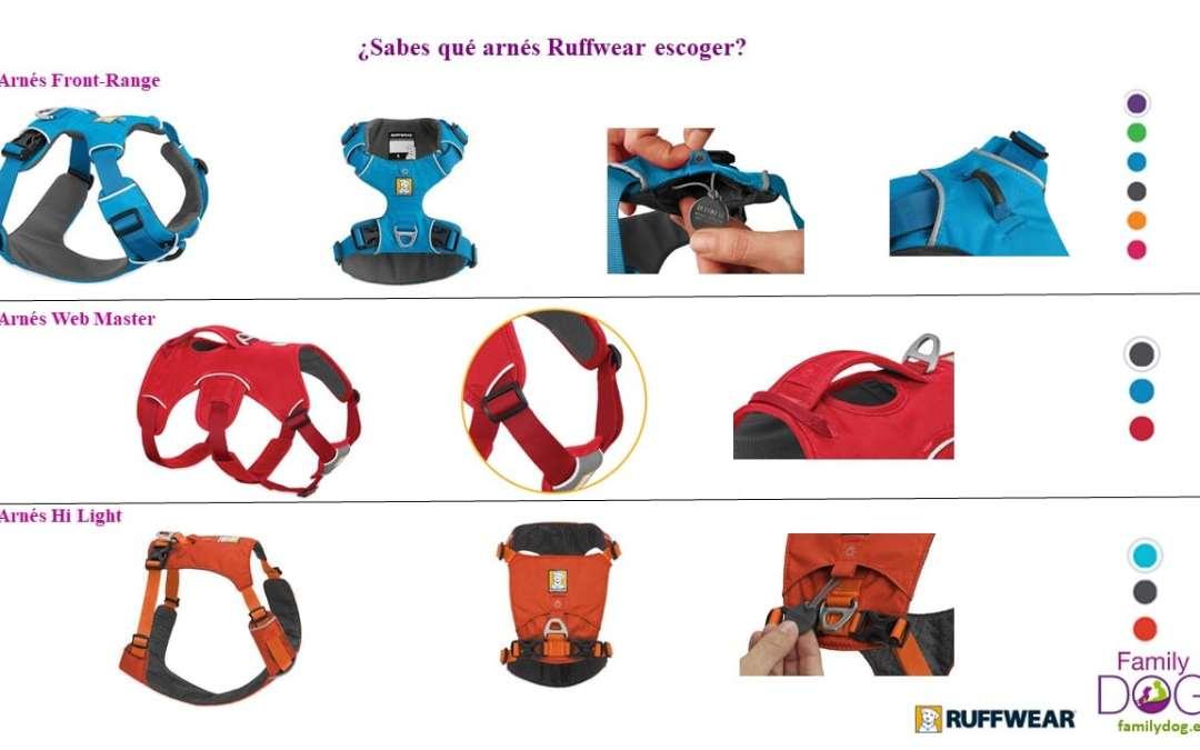 Comparativa arneses para perros Ruffwear