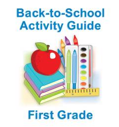 First Grade Summer Learning for Back-to-School - FamilyEducation [ 1000 x 1200 Pixel ]