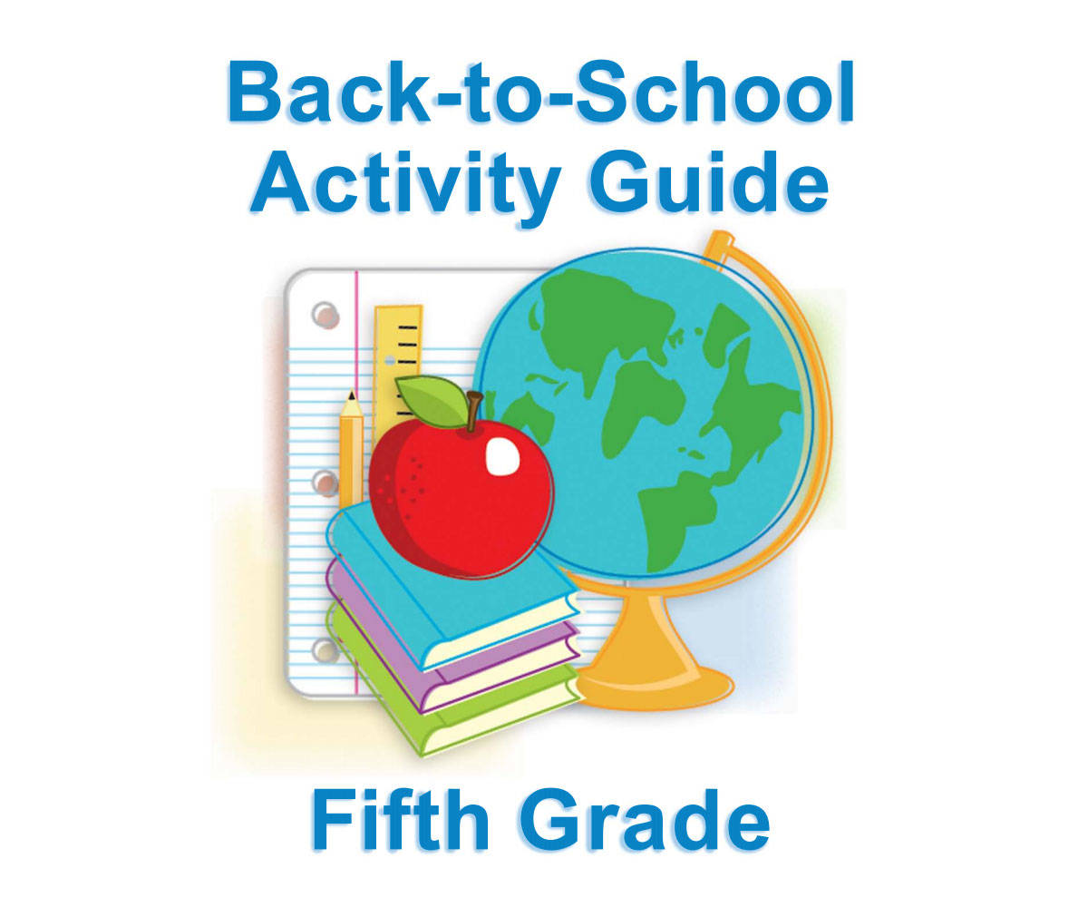 Fifth Grade Summer Learning For Back To School