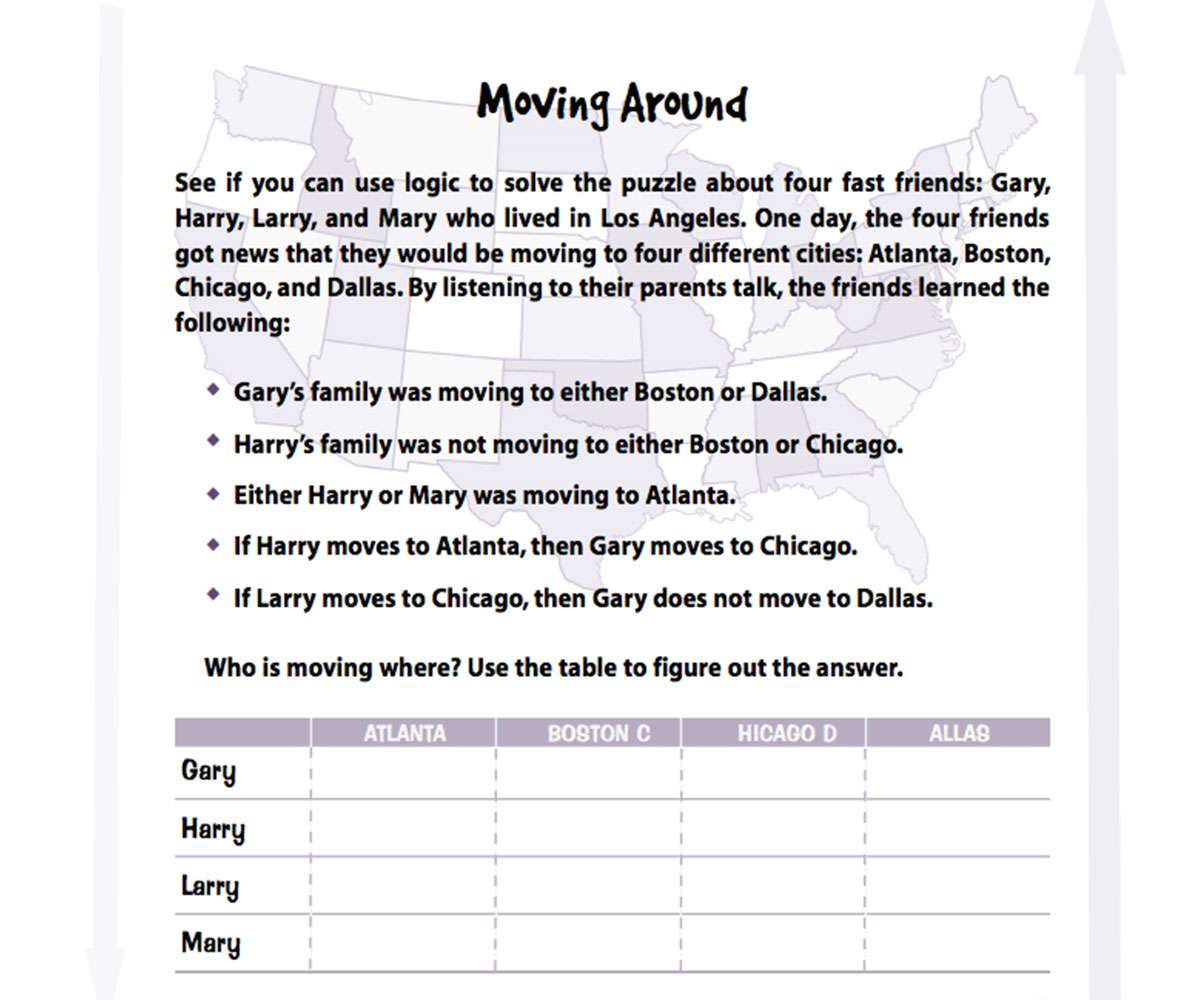 Fourth Grade Math Activities and Printables - FamilyEducation [ 1000 x 1200 Pixel ]