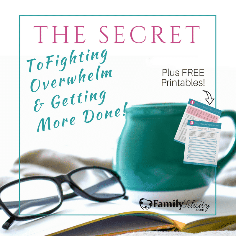 The Secret to Fighting Overwhelm and Getting More Done Cover