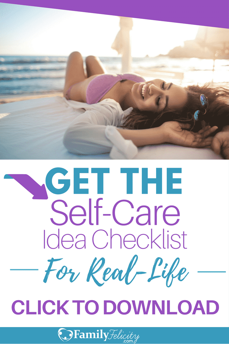 Self-Care Checklist Ad