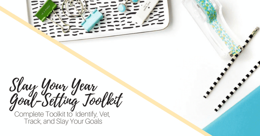 Slay For Your Goal-Setting ad