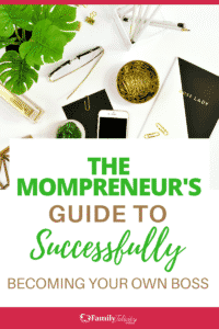 Becoming your own boss isn't an easy transition, especially for moms leaving the workforce to work at home. Here are 5 ways to succeed and excel as a mompreneur and not waste time struggling with having a healthy business mindset. #Mompreneur #MomBoss
