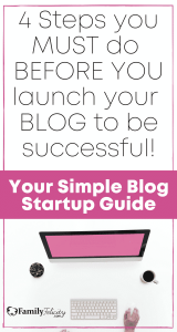 Complete blog start up guide