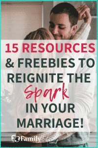 Lacking the spark and intimacy in your marriage? No worries... try these tips with FREE resources to help you get reconnected in your marriage. #marriage #relationshipgoals #marriageadvice