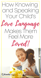 50 Ways to speak your child's unique love language