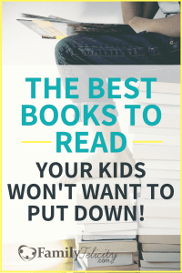 Are your kids complaining of being bored this summer? Check out this hand picked books to read your kids won't want to put down! #parenting #kidsandparenting #books #reading #bookshelf