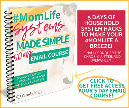 Momlife Made Simple Email course