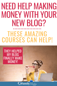 These blogging courses were instrumental in increasing my blog traffic and my income! Plus, they are super affordable too! #blogging #blogger #blog