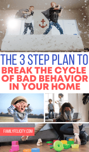Want to know how to help your kids break bad behavior habits? Try this fool-proof 3 step plan to foster good, healthy habits in your kids. #kidsandparenting #parenting