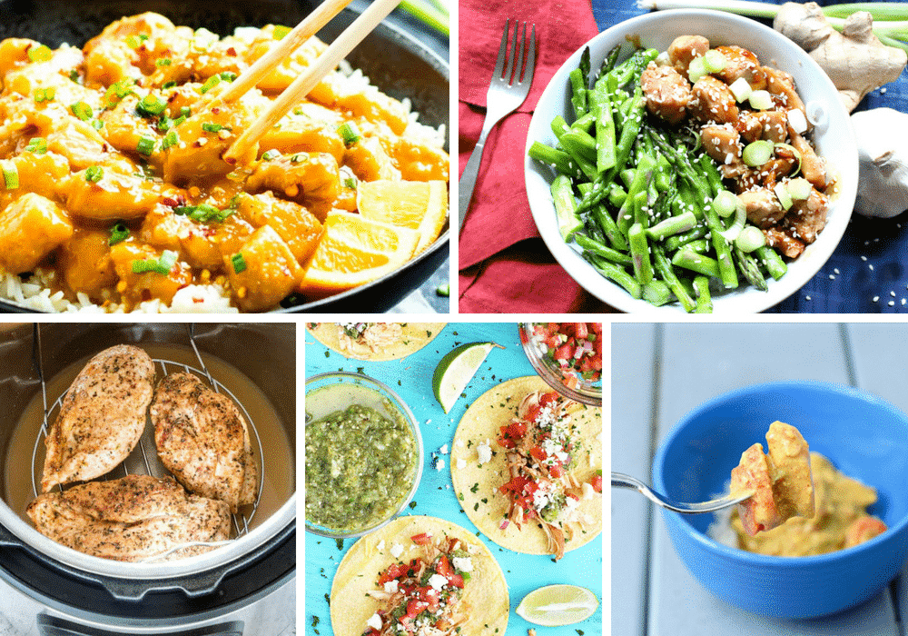 Chicken Instant Pot Recipes your family will love!