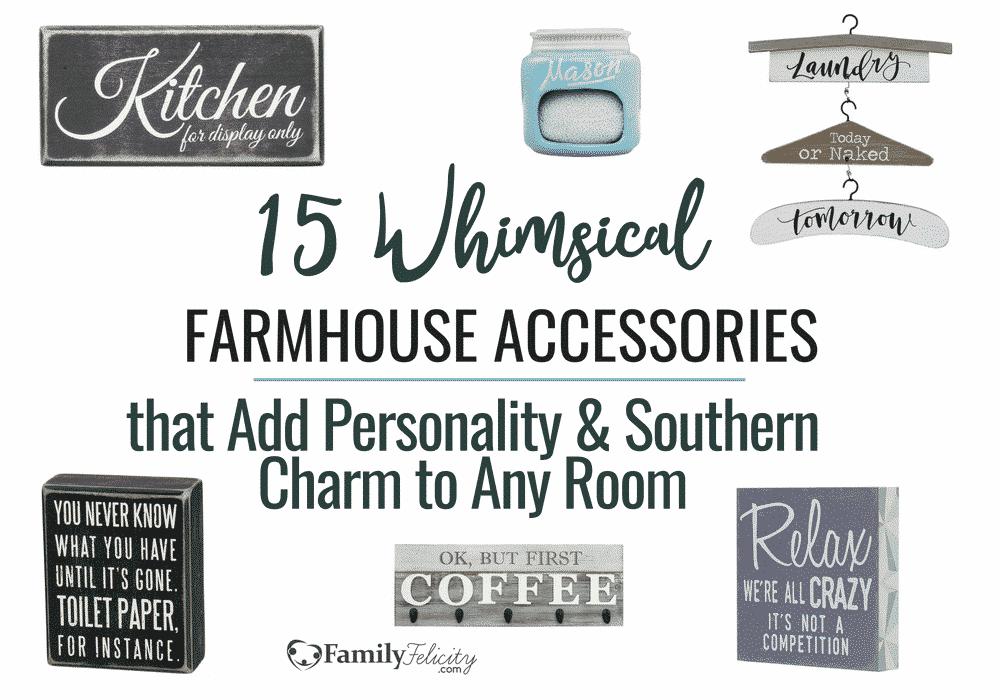 Whimsical Farmhouse Decor Accessories