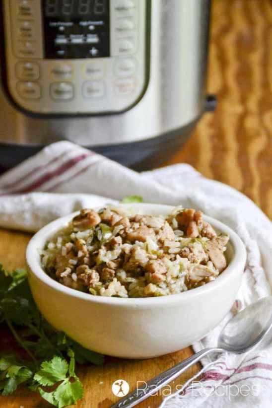 Easy Chicken Biryani in the Instant Pot Recipe
