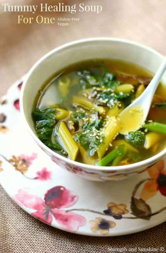 tummy healing soup