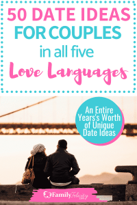 Looking for simple, yet uniquely personal date ideas to enjoy with your spouse? Get a years worth of fun date night ideas! #marriage #marriageadvice #relationships