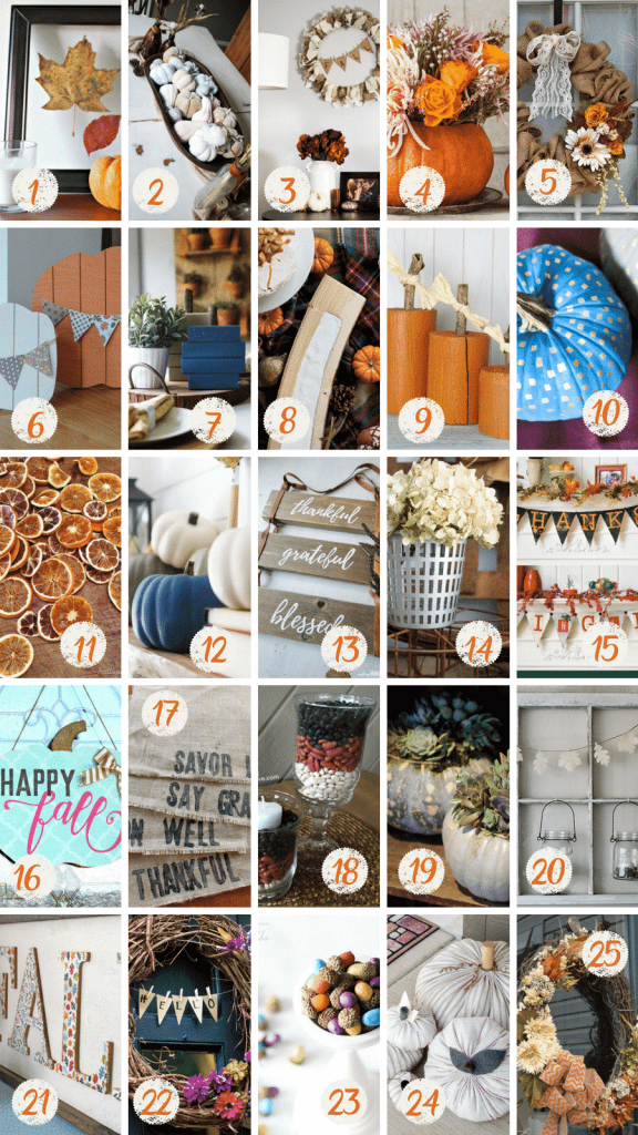 Fall Inspired Home Decor