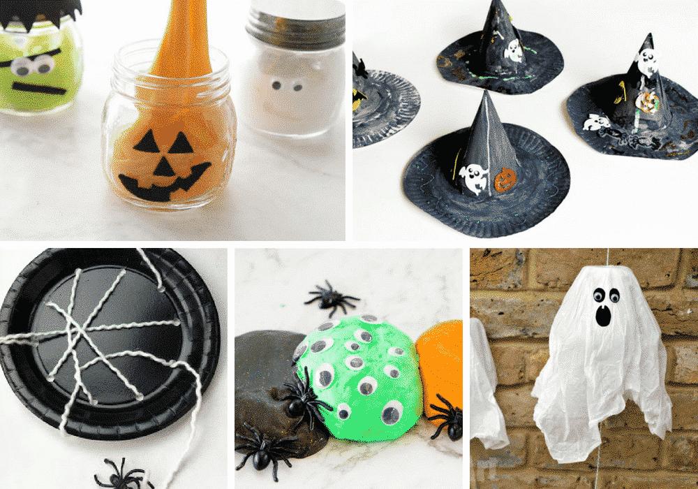 Halloween Inspired craft ideas for kids