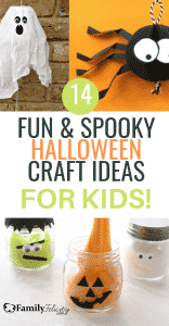 Your kids will love these Halloween craft projects! A great way to celebrate Halloween! #crafts #kidscrafts #DIY #DIYprojects #kidsactivities