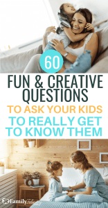 Asking fun questions is a wonderful way to get your kids talking about their day and helps to really get to know their heart. These questions are perfect for after school, after play dates, and anytime! #kidsandparenting #parenting #parenting101 #parentingtips
