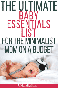 This list of baby stuff is everything you need for your baby's first year! Baby essentials. #kidsandparenting #babies #parenting #pregnancy