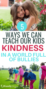 Kindness is in short supply in this world. Teaching our kids kindness is so important and the reasons why will surprise you! #kidsandparenting #parenting #parentingtips #kids