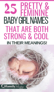 These pretty baby girl names are so unique and beautiful! But they also have the most amazing meanings too! #babynames #parenting #kidsandparenting