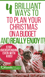 Enjoying your Christmas on a budget even with kids isn't impossible! Get these brilliant tips to get your started... it's NOT too late. #christmas #kidsandparenting
