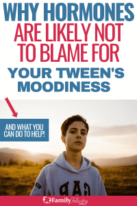 Easy solutions to help your tween overcome moodiness and other bad behaviors. And why hormones likely are not to blame! #kidsandparenting #teens #tweens
