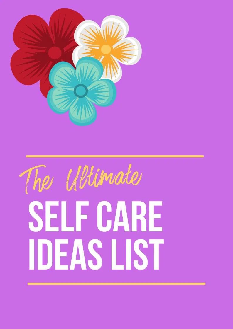 Cover self care