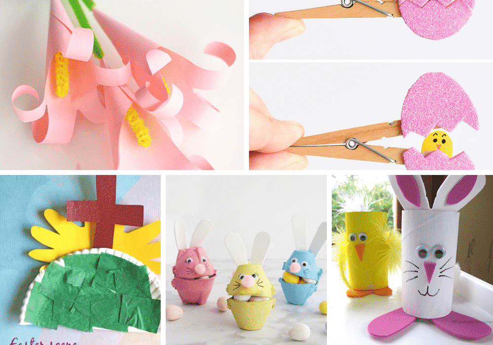 17 Super Easy And Adorable Easter Crafts To Do With Your Kids