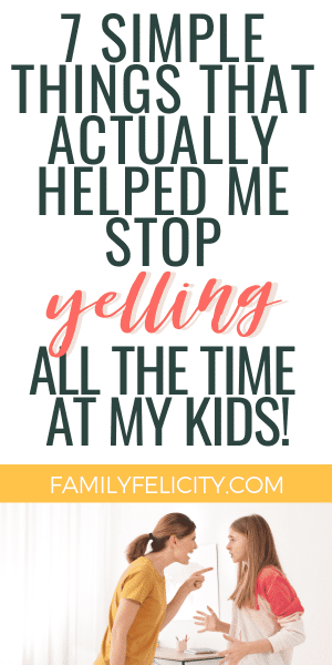 Want to stop feeling like an angry mom and yelling at your kids all the time? These simple tips really helped me find my anger triggers and stop yelling at my kids! #kidsandparenting #parenting #parentingadvice
