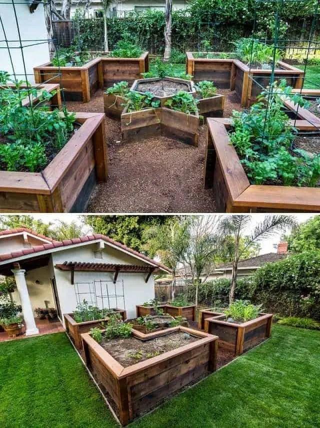 raised garden bed ideas plans 2021