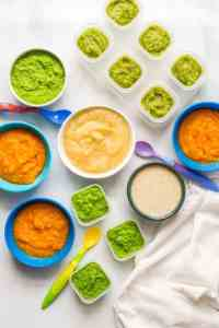 Homemade baby food combinations - Family Food on the Table