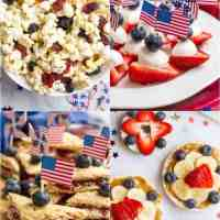 Easy red, white and blue July 4th appetizers