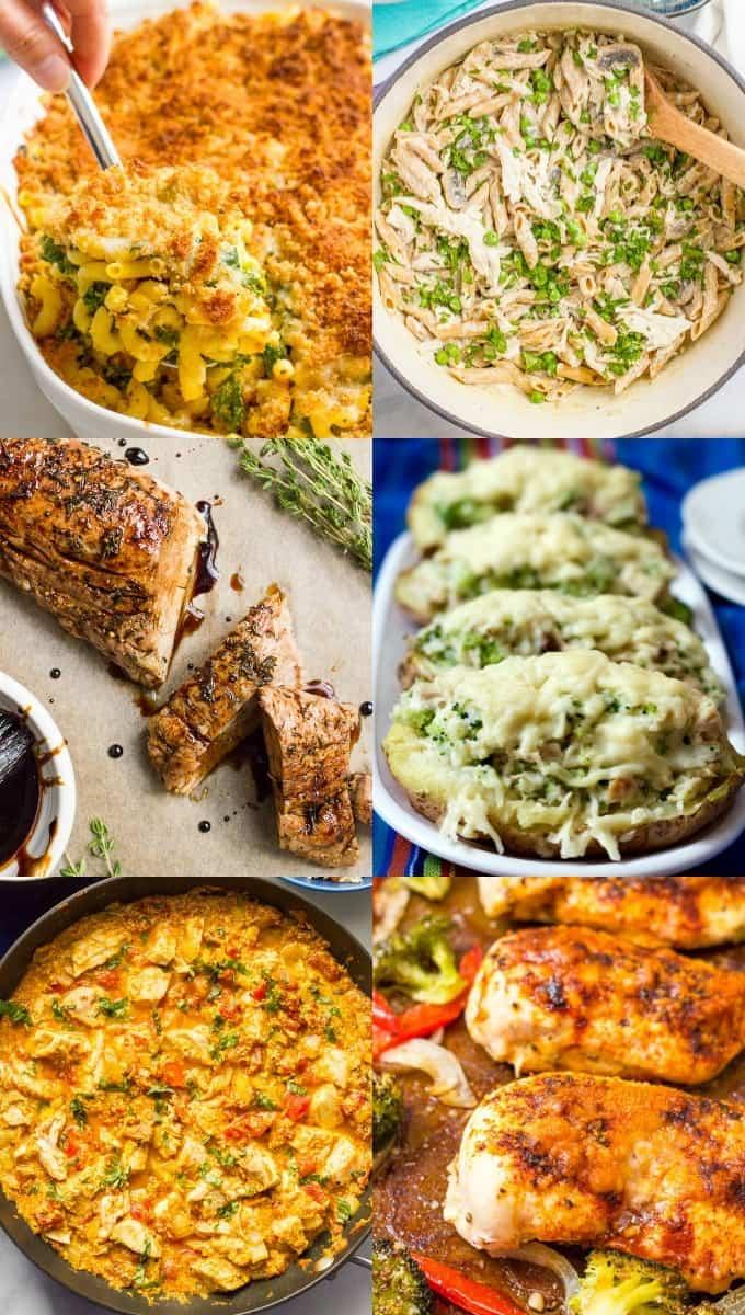 30 Easy Healthy Family Dinner Ideas Family Food On The Table
