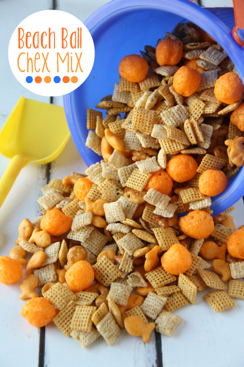 Summer Snack Beach Ball Chex Mix  Family Fresh Meals