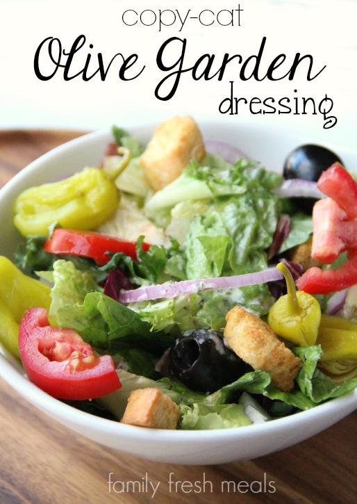 Copycat Olive Garden Salad Dressing Recipe Family Fresh Meals