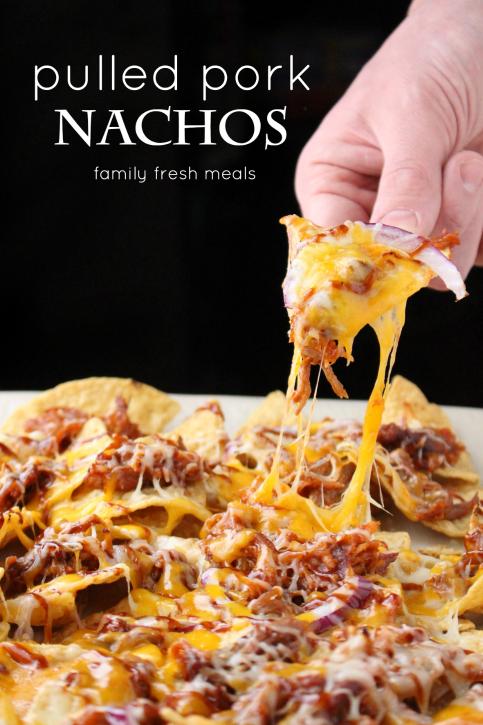 Pulled Pork Nachos - Family Fresh Meals