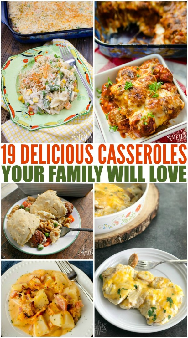 Deliciously Easy Casserole Recipes Family Fresh Meals