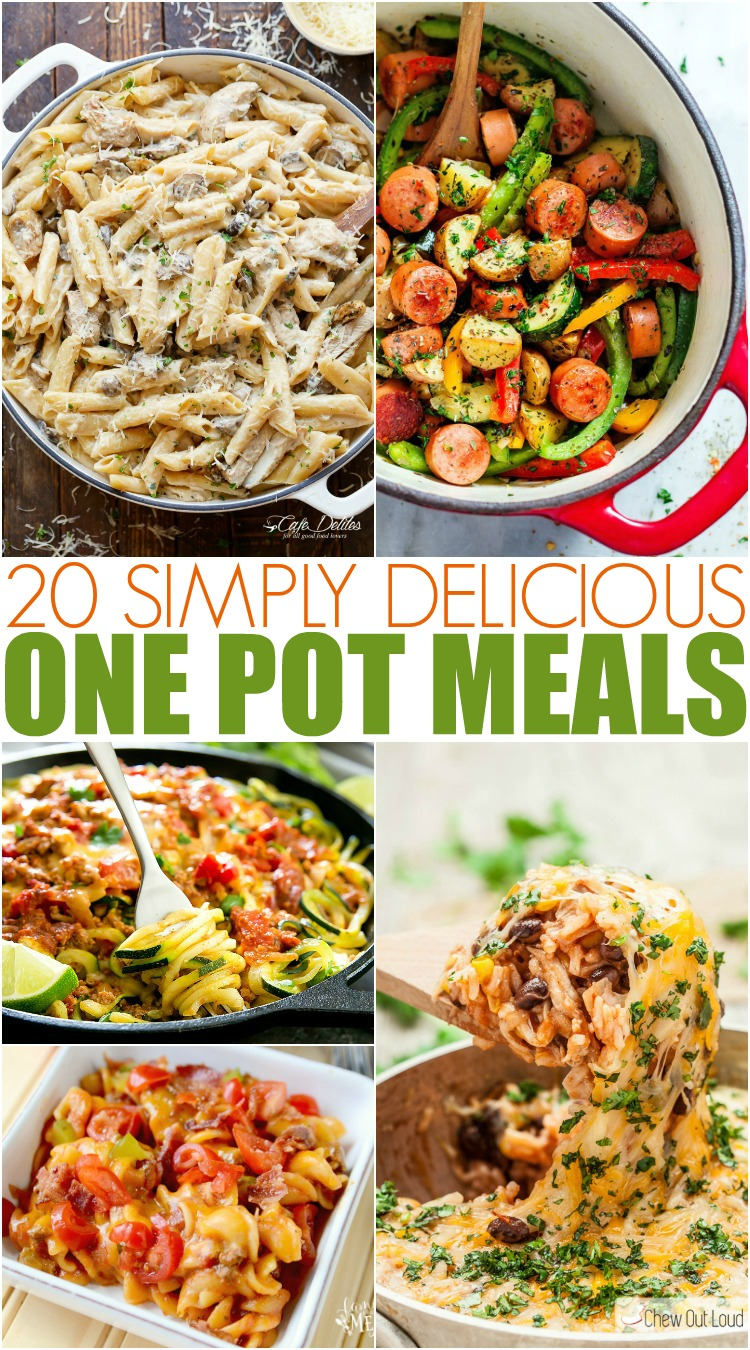 Simply Delicious and Easy One Pot Meals - Family Fresh Meals