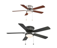 Hton Bay 36 Ceiling Fan hton bay minuet iii 36 in white ...
