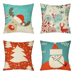 Amazon Xmas Chair Covers Plastic Lawn Chairs Walmart 18 X Inch Christmas Decorative Throw Pillow On