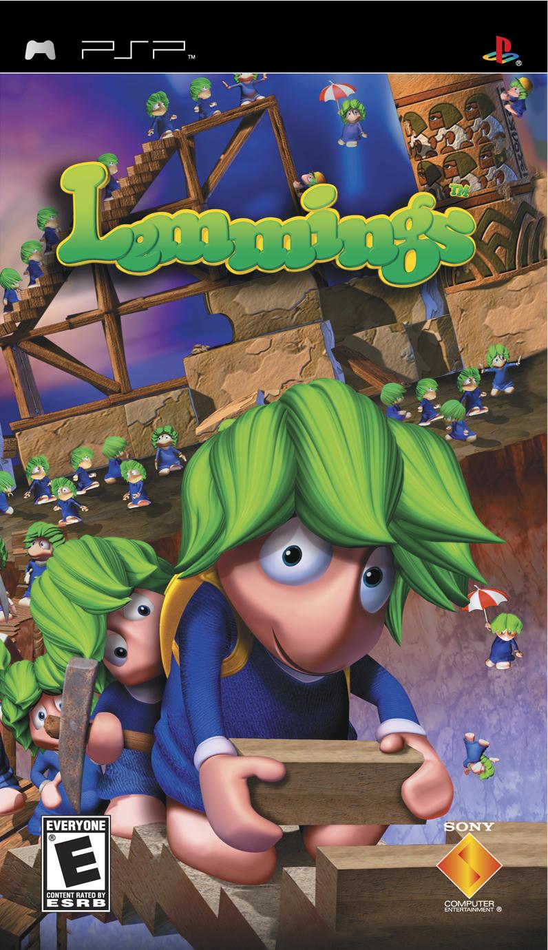 Family Friendly Gaming Lemmings  Lemmings PSP Lemmings