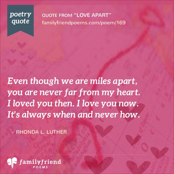 Love Apart Long Distance Poem
