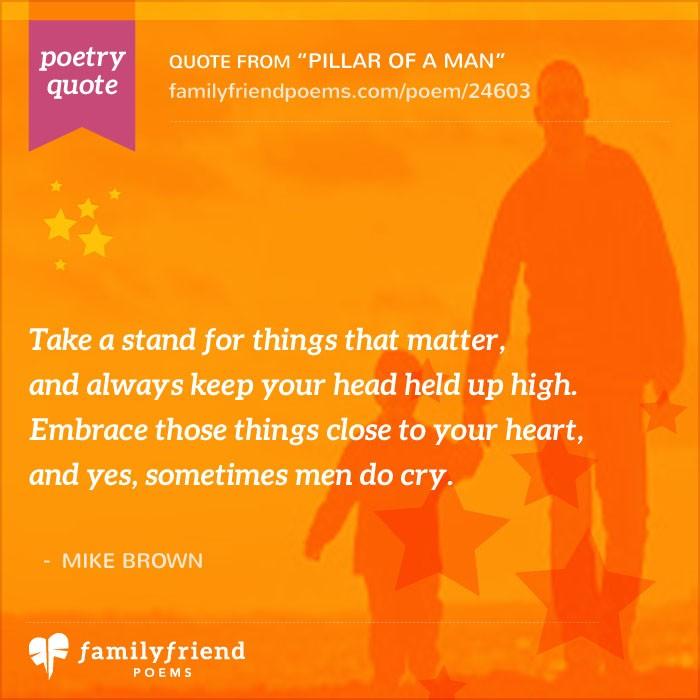 Birthday Wishes To Dad Pillar Of A Man Birthday Poem